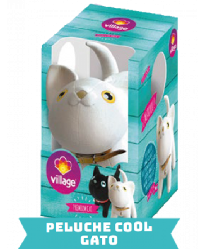 PELUCHE COOL GATO | VILLAGE