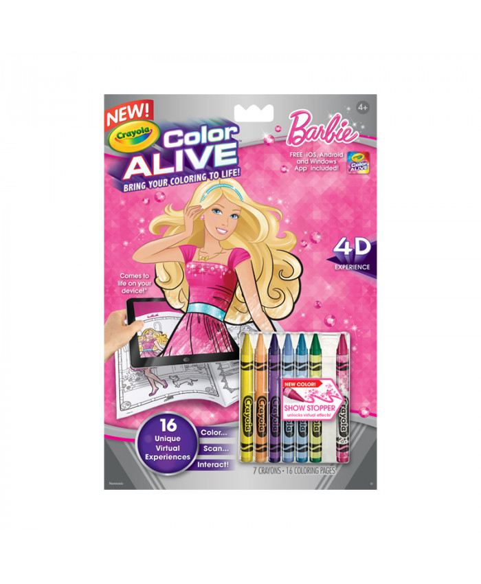 BARBIE COLOR ALIVE | CRAYOLA