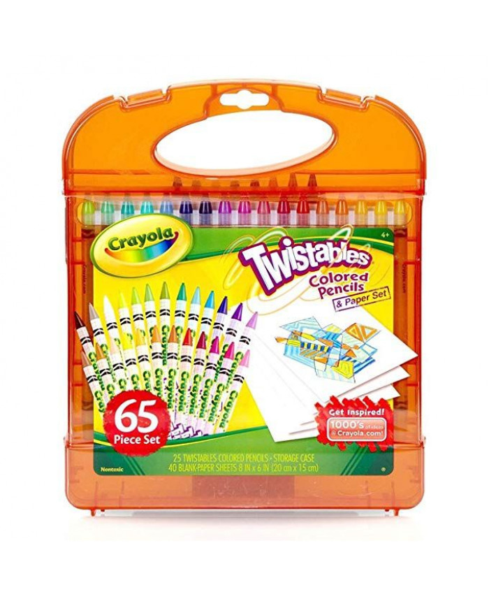 KIT DE 65 PIEZAS TWISTABLES | CRAYOLA