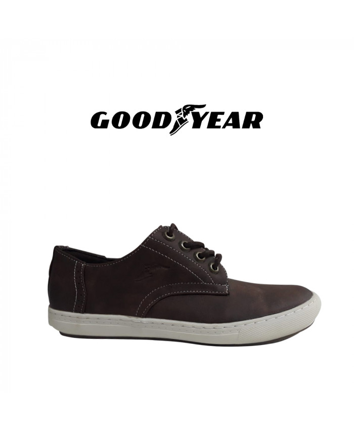 CALZADO GOODYEAR MASCULINO - GABRIEL DARK BROWN