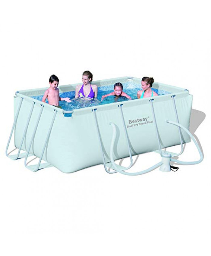 PISCINA RECTANGULAR FRAME POOL SET BESTWAY