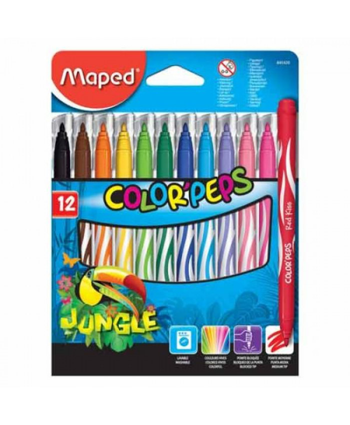 MARCADORES JUNGLE (12) | MAPED