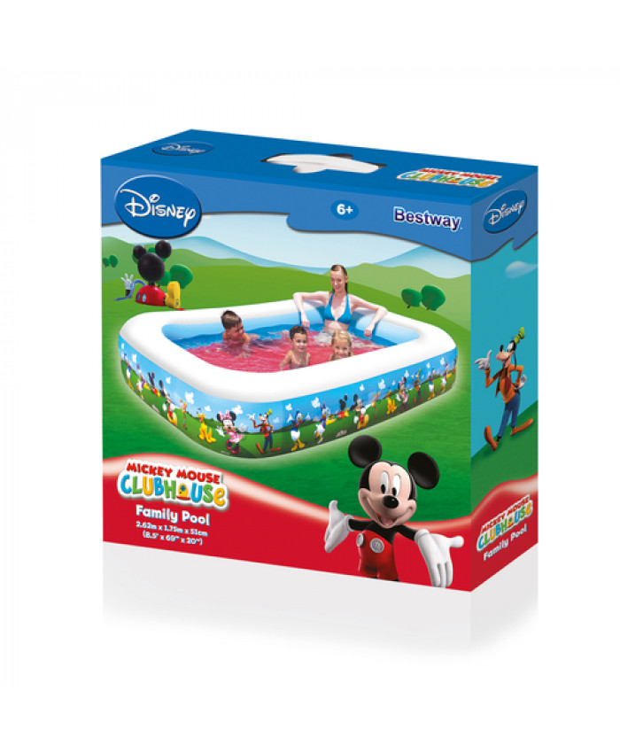 PISCINA RECTANGULAR MICKEY MOUSE - 778 LITROS