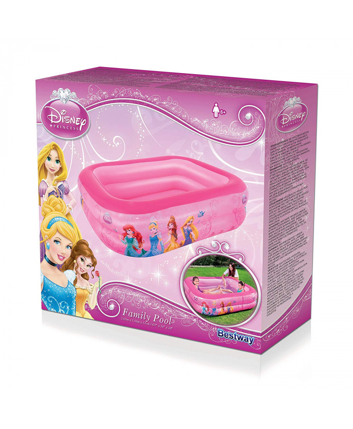 PISCINA RECTANGULAR PRINCESAS - 450 LITROS