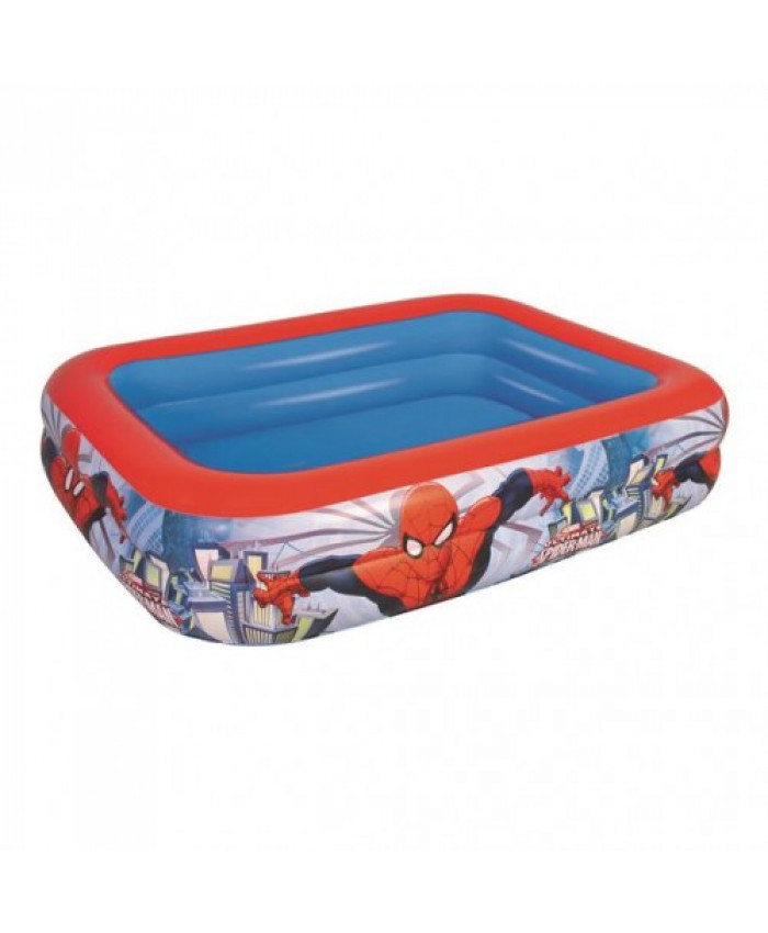 PISCINA RECTANGULAR SPIDERMAN - 450 LITROS