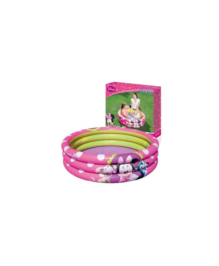 PISCINA 3 ANILLOS MINNIE MOUSE - 101 LITROS