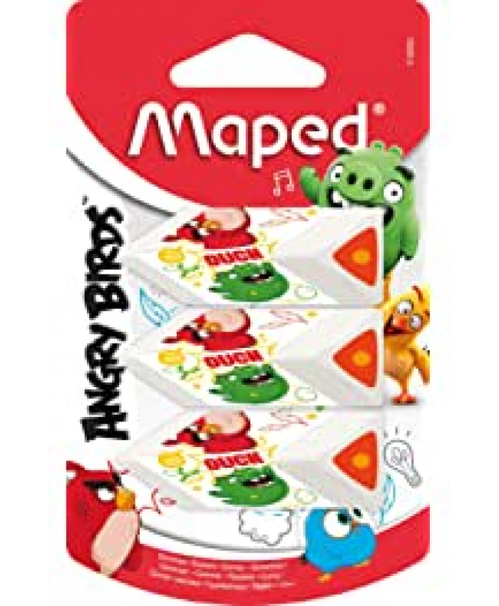 BORRADOR ANGRY BIRDS | MAPED