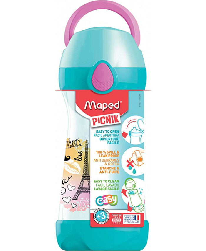 HOPPIE PICNIK PARIS 430ML.CON MANIJA - MAPED