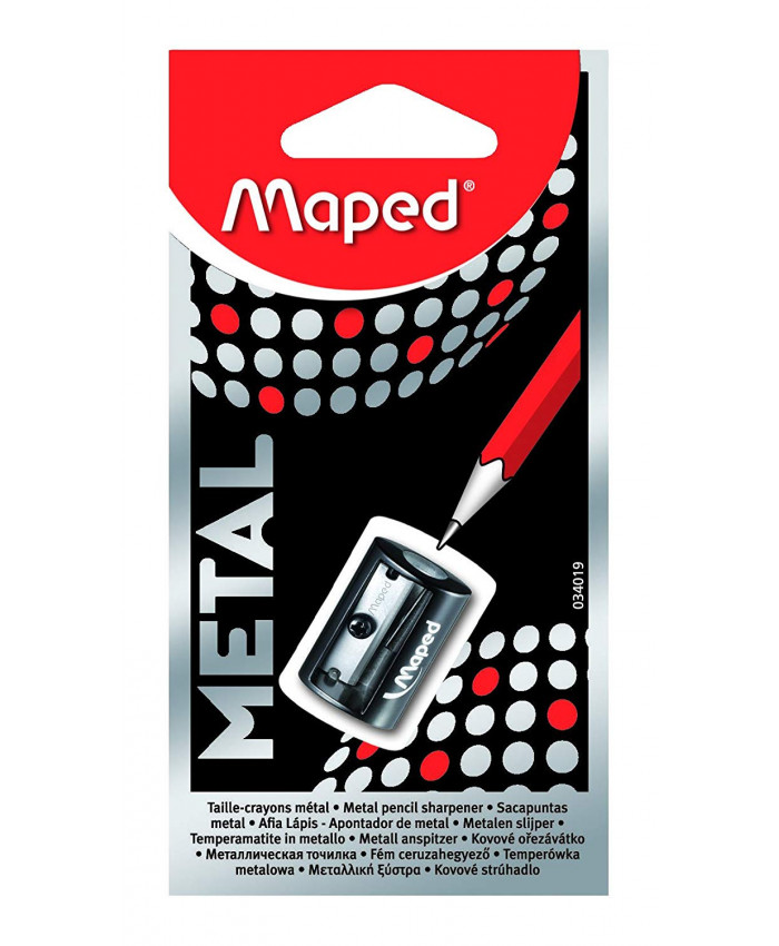 SACAPUNTAS SATELLITE METAL SIMPLE - MAPED