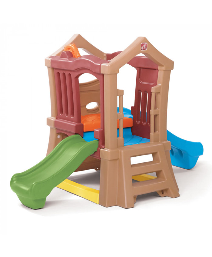 PLAYGROUND DOUBLE SLIDE CLIMBER - STEP2