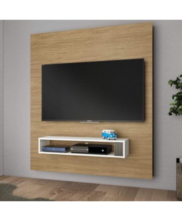 ESTANTE CON PANEL PARA TV