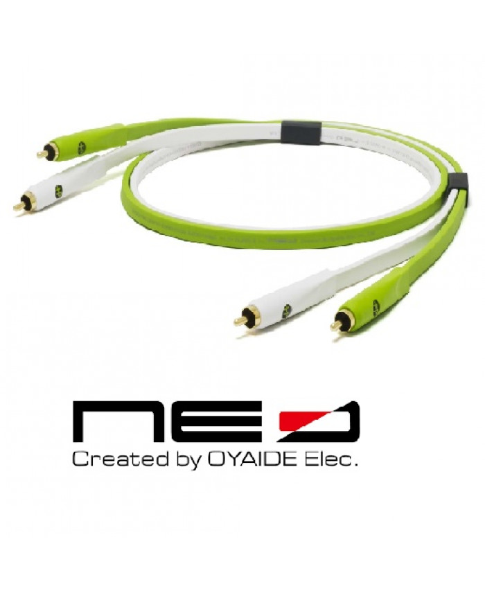 OYAIDE CABLE RCA 2.0 CLASE B 1MTS