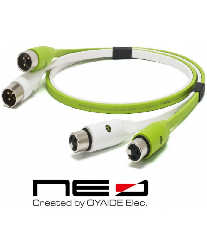 OYAIDE CABLE XLR CANON CLASE B 1MTS