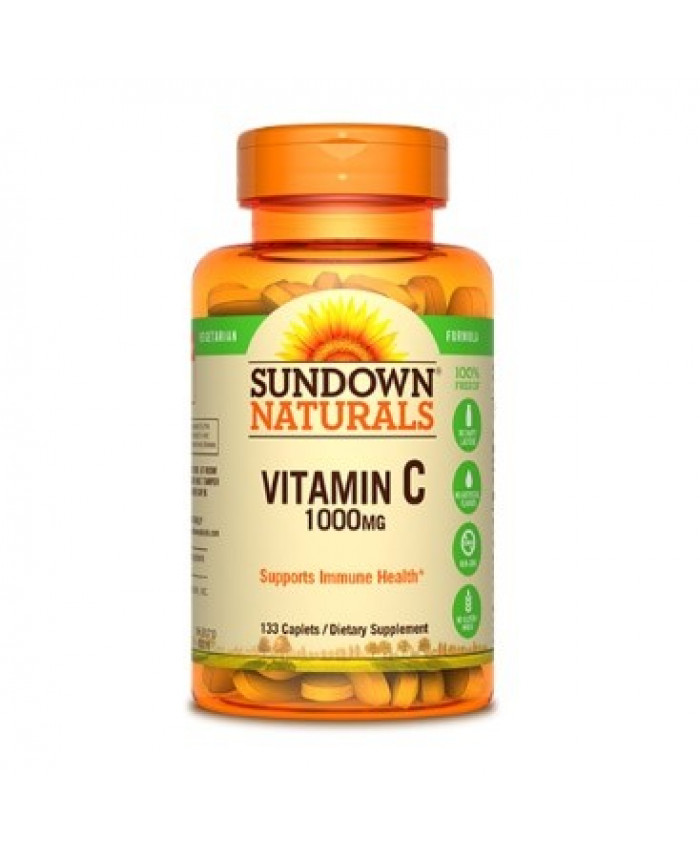 VITAMINA C X 1000MG X 133 CAPSULAS – SUNDOWN