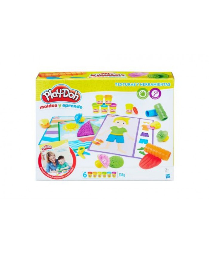 PLAY-DOH TEXTURE AND TOOLS