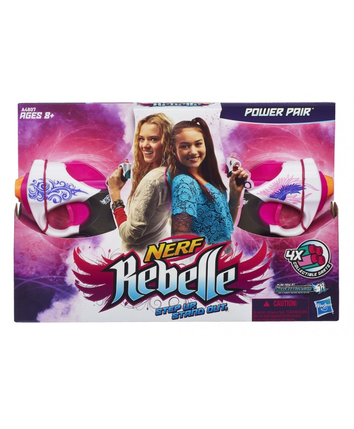 NERF REBELLE PACK DUO