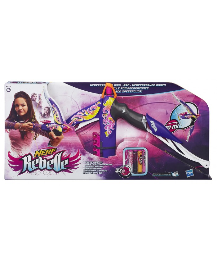 NERF REBELLE - HEARTBREAKER BOW