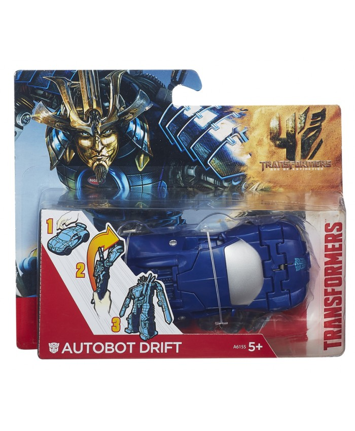 TRANSFORMERS AUTOBOT DRIFT 1 STEP