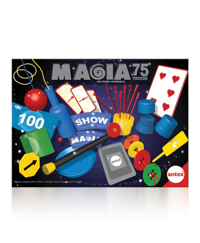 MAGIA SHOW JUNIOR 75 TRUCOS - ANTEX