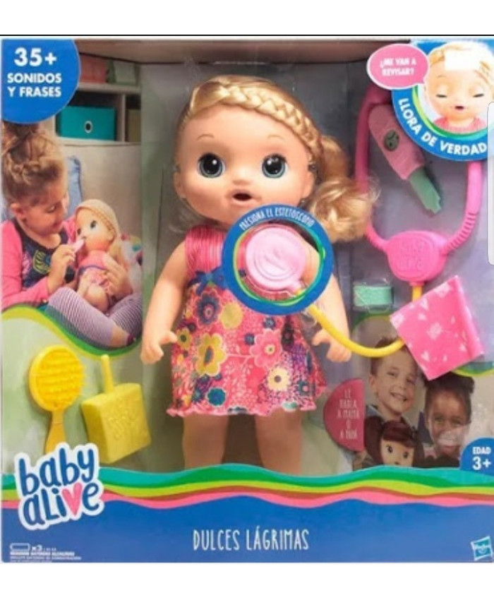 BABY ALIVE DULCES LAGRIMAS RUBIA