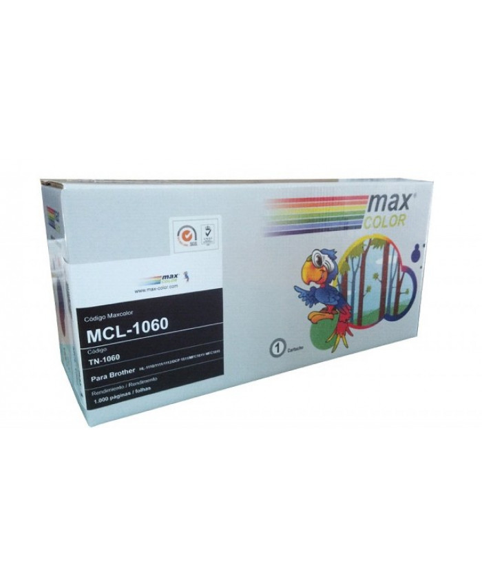 TONER MAXCOLOR BROTHER 1060