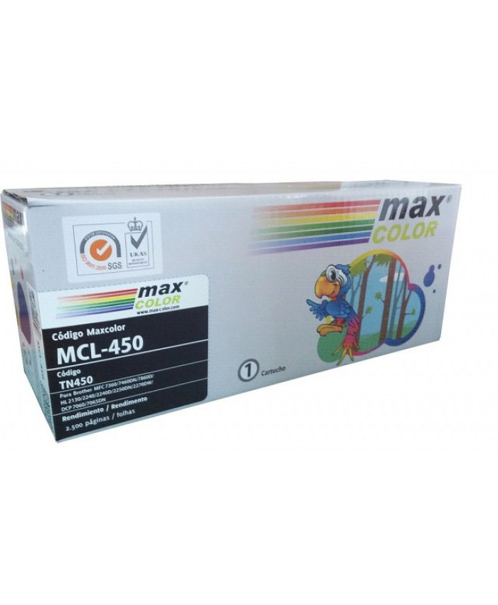 TONER MAXCOLOR BROTHER 450