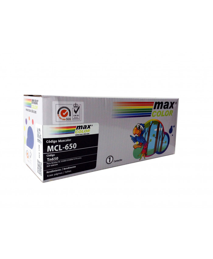 TONER MAXCOLOR BROTHER 650