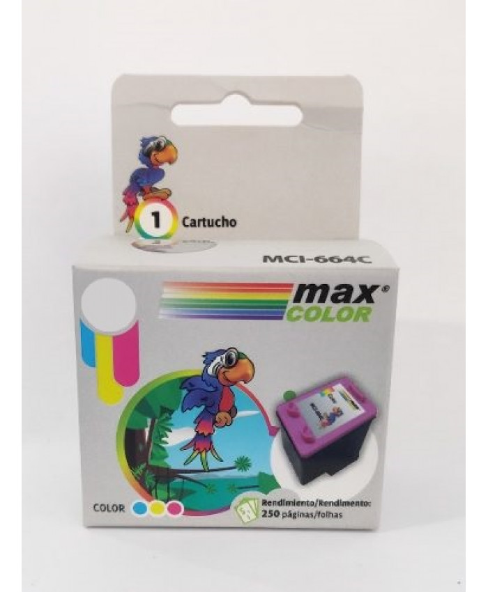 TINTA MAXCOLOR 60XL COLOR