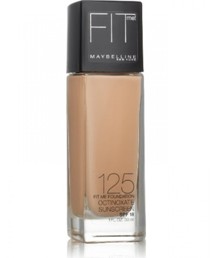 BASE LÍQUIDA MAYBELLINE FIT ME - NUDE BEIGE (125)