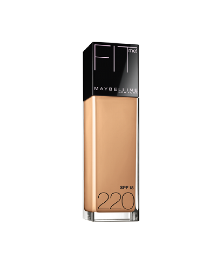 BASE LÍQUIDA MAYBELLINE FIT ME - NATURAL BEIGE (220)