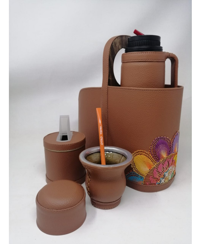 KIT PARA MATE TERRACOTA