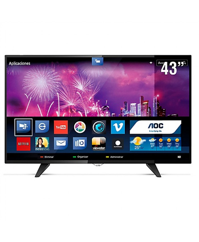 "TV LED AOC 43"" FULL HD SMART - LE43S5970"