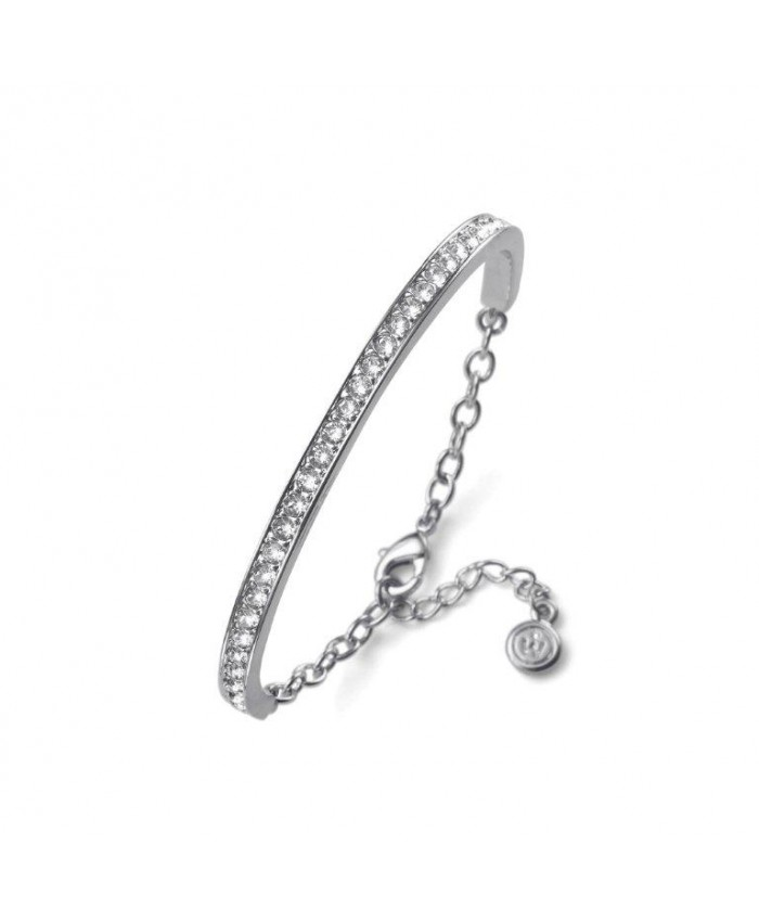BANGLE BASE RHOD. CRYSTAL - SWAROVSKI®
