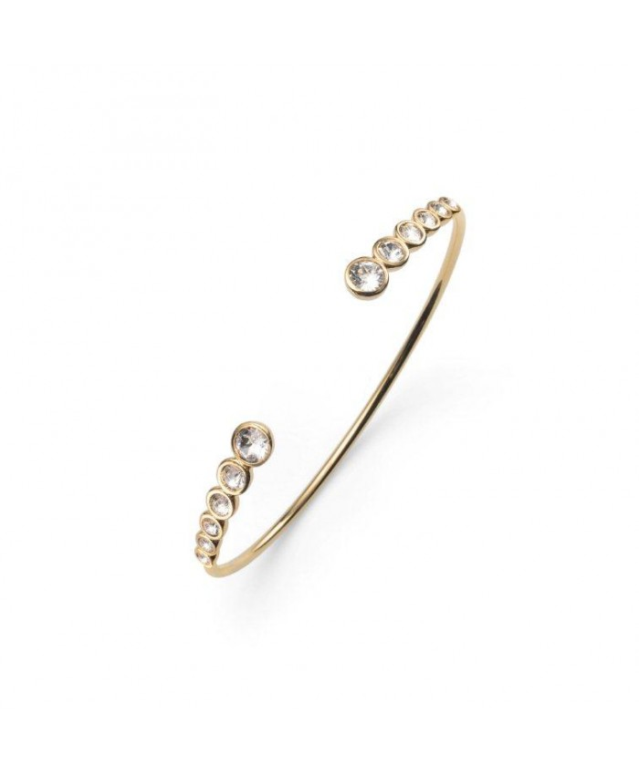 BANGLE SERIAL GOLD CRYSTAL - SWAROVSKI®