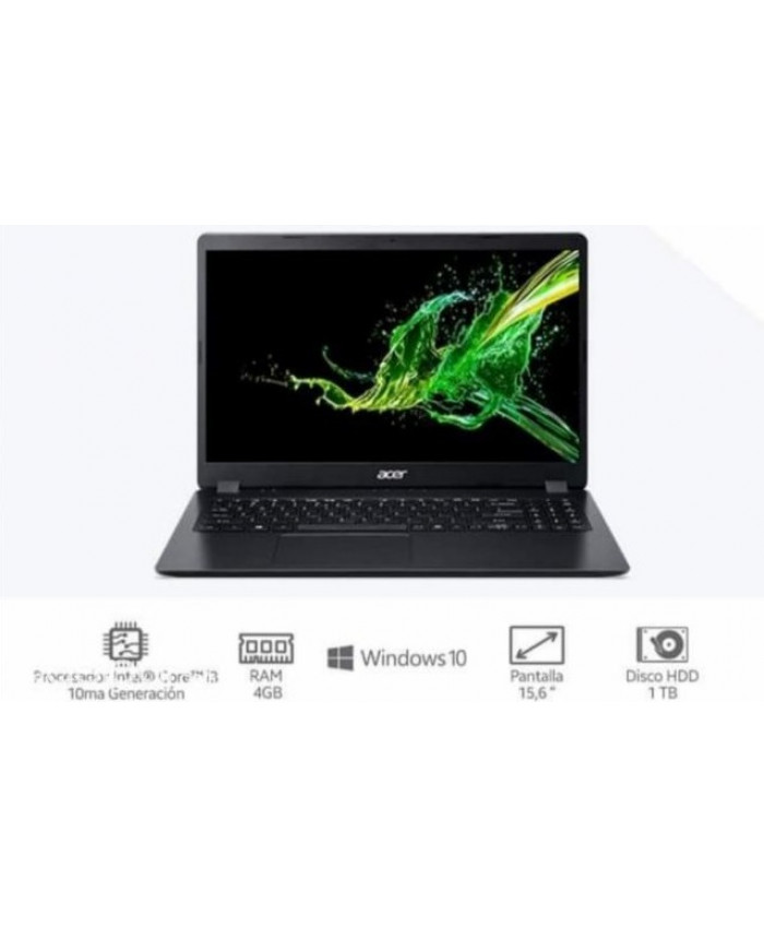 NOTEBOOK ACER CI3 56-38EY/10MA GEN/15.6″/4GB/1TB/W10
