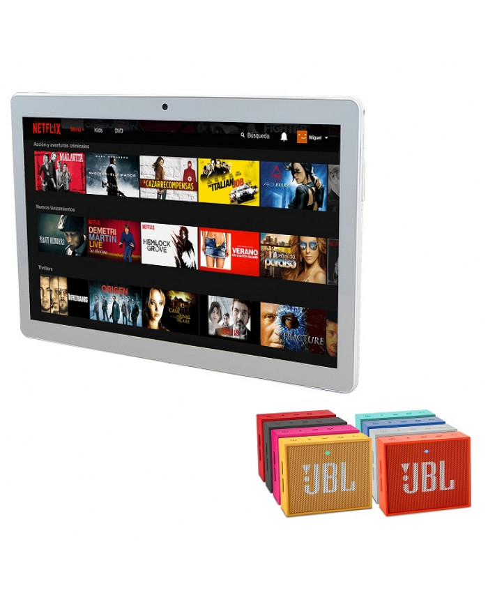 TABLET KOLKE ENTERTAINMENT 2017 + JBL GO