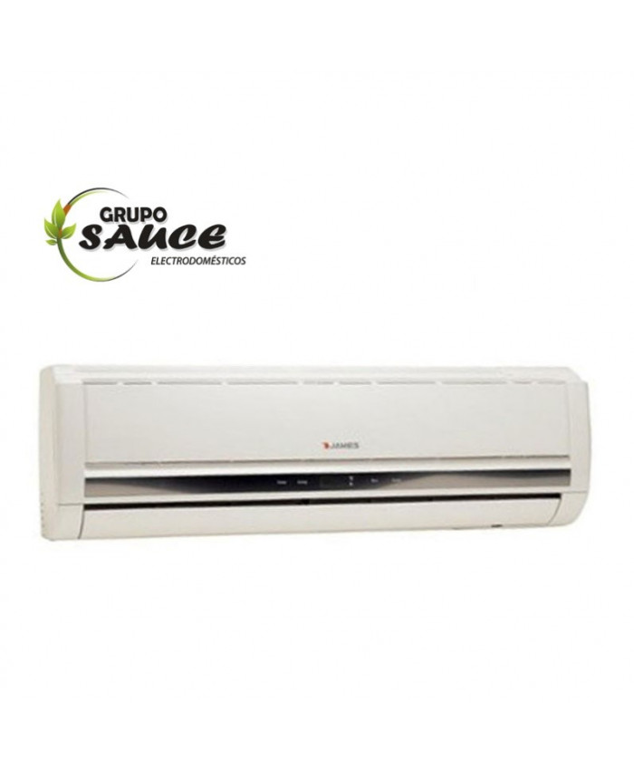 AIRE ACONDICIONADO SPLIT JAMES 24.000 BTU F/C GAS ECOLOGICO