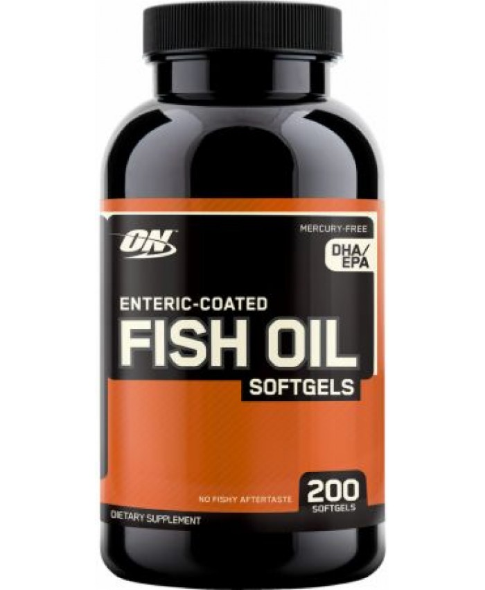 FISH OIL 200 CAPS.
