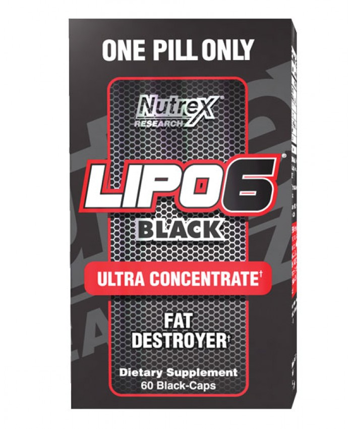 LIPO6 BLACK ULTRA CONCENTRATE - 60 CÁPSULAS