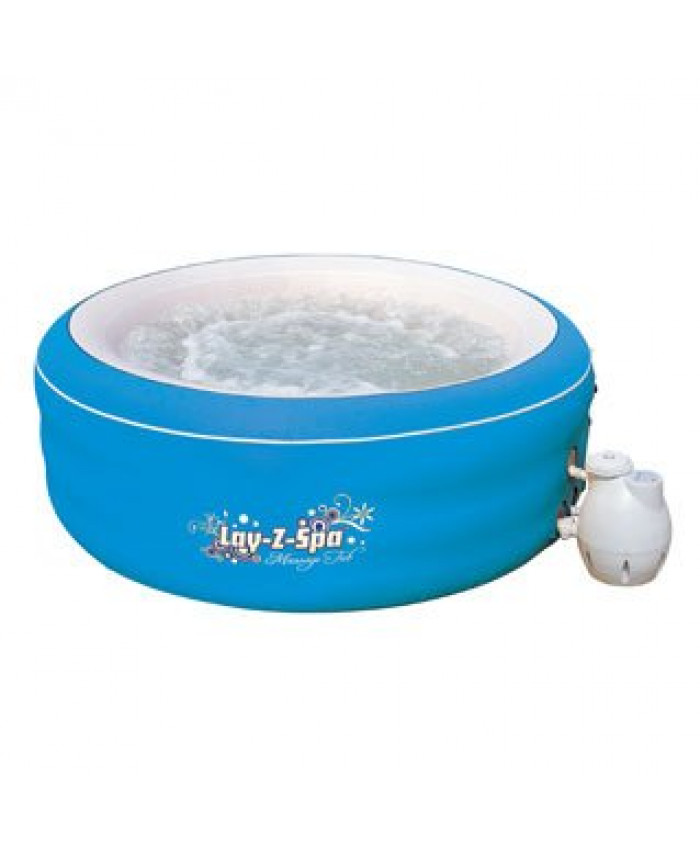 HIDROMASAJE INFLABLE, LAY-Z-SPA MASSAGE TUB