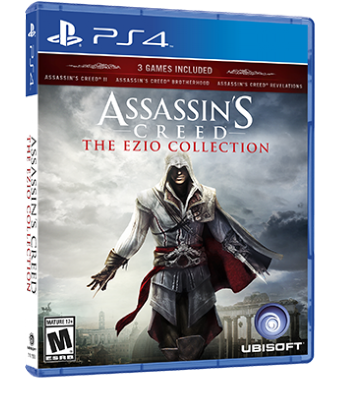 JUEGO PS4 - ASSASSIN'S CREED: THE EZIO COLLECTION