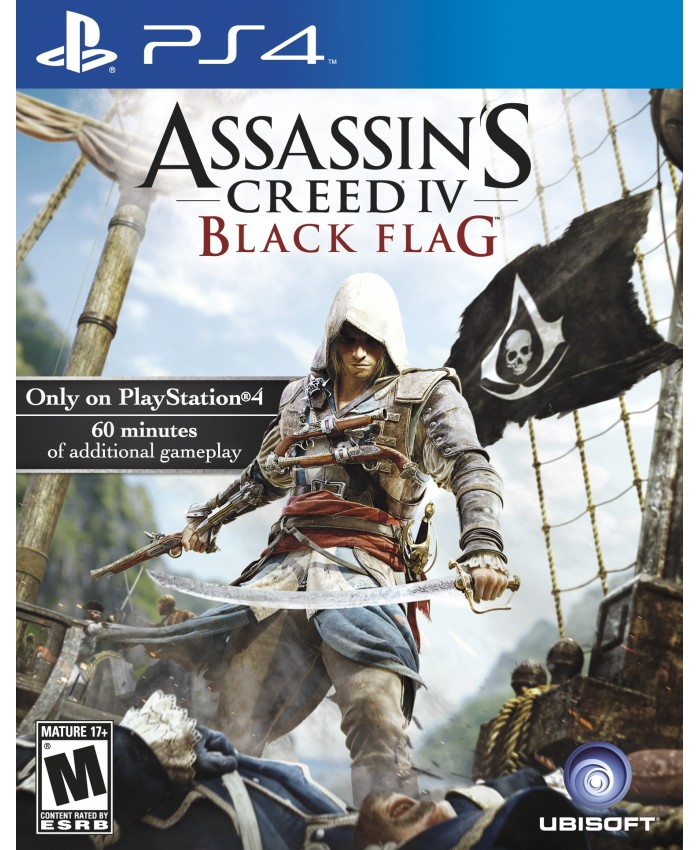 JUEGO PS4 - ASSASSIN'S CREED IV: BLACK FLAG