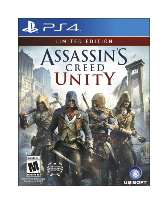 JUEGO PS4 - ASSASSIN'S CREED: UNITY LIMITED EDITION