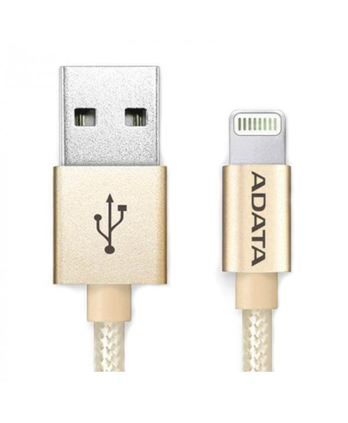 CABLE ADATA LIGHTNING ALUMINIUM - GOLDEN