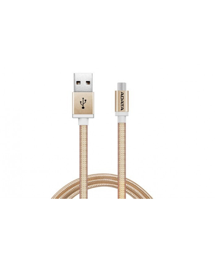 CABLE ADATA MICRO USB ALUMINIUM - GOLDEN