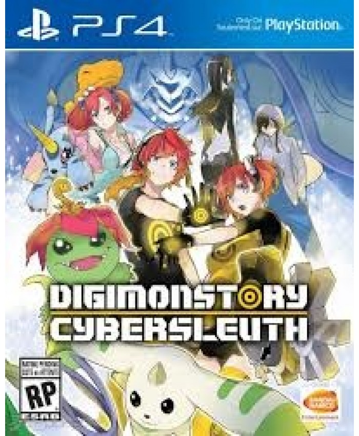 JUEGO PS4 - DIGIMON STORY CYBER SLEUTH