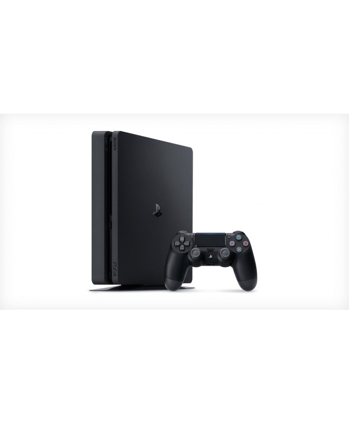 PLAYSTATION 4 SLIM - 500GB JET BLACK