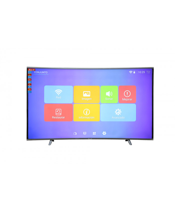 "TV LED KILAND SMART CURVA 65""  - 4K"
