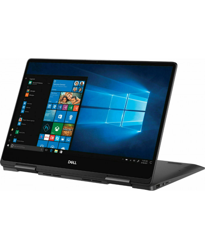"NOTEBOOK CONVERTIBLE DELL I7386-7007BLK I7-8565U 1.8/16GB/256SSD/13.3""UHD IPS 4K TOUCH/W10/BLACK"