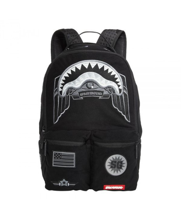 MOCHILA SPRAYGROUND - GHOST SHARK ARMY
